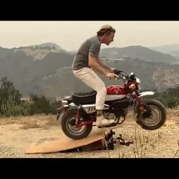 Obi-Wan: Ewan McGregor Channels Evel Knievel Lives to Tell About It