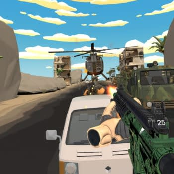 Operation Serpens, a Stand-Up VR Shooter Set to Release on October 22