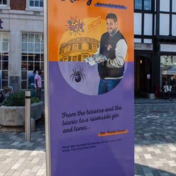 Piranha Comics Spotlighted On Kingston-Upon-Thames High Street