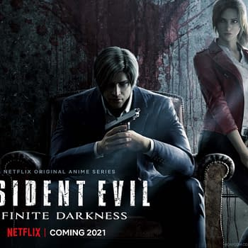 RESIDENT EVIL: Infinite Darkness: Netflix Previews 3DCG Anime Series
