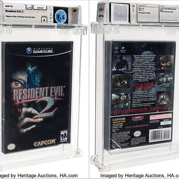 Sealed GameCube Resident Evil 2 Up For Auction Now At Heritage