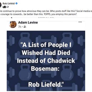 Fanboy Rampage: Rob Liefeld Vs Adam Levine