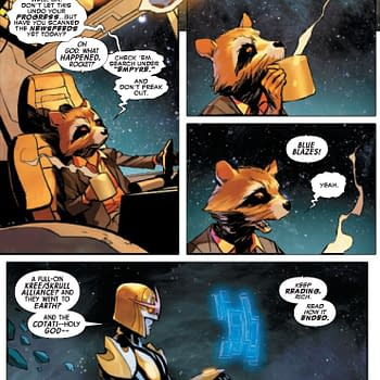 Did Rocket Raccoon Read A Different Empyre Ending To The Rest Of Us