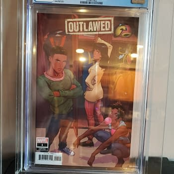 Outlawed #1 CGC 9.8 Sells On Ebay For Almost $2500