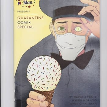 Ice Cream Man Gets A $100 Thank You Foil Variant As a Cherry On Top