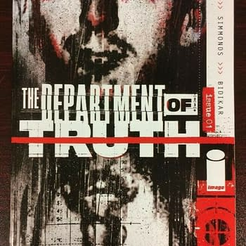 Department Of Truth #1 Gets A Secret 1:10 Lee Harvey Oswald Variant