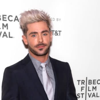 Zac Efron attends premiere of Extremely Wicked, Shockingly Evil and Vile movie during Tribeca Film Festivall at BMCC Theatre. Editorial credit: Ovidiu Hrubaru / Shutterstock.com