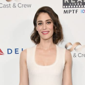 """Lizzy Caplan arrives for the Eighth Annual """"Reel Stories, Reel Lives"""" Benefiting MPTF on November 04, 2019 in Los Angeles, CA. Editorial credit: Quinn Jeffrey / Shutterstock.com"""