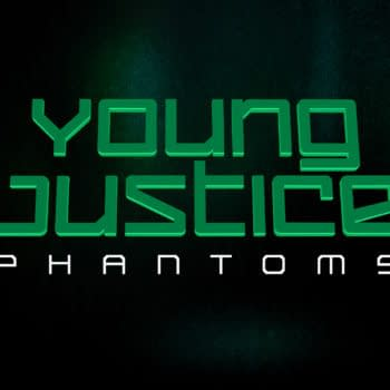 The Young Justice Phantoms logo. Credit: DC/Warner Bros.