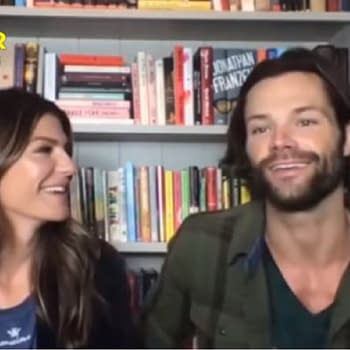 Supernatural Stars Genevieve &#038 Jared Padalecki Talk Series End Walker