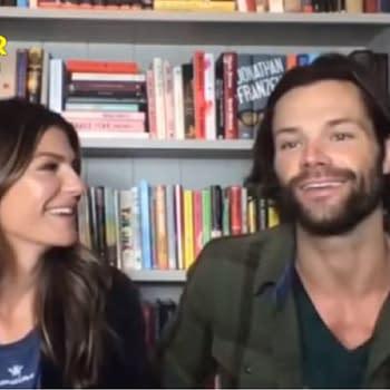 Supernatural Stars Genevieve&#038 Jared Padalecki Talk Series End Walker
