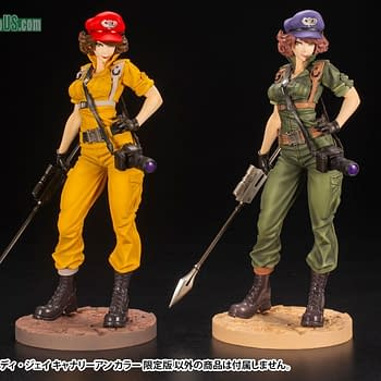 GI Joe Lady Jaye is Back with a New Variant Kotobukiya Statue