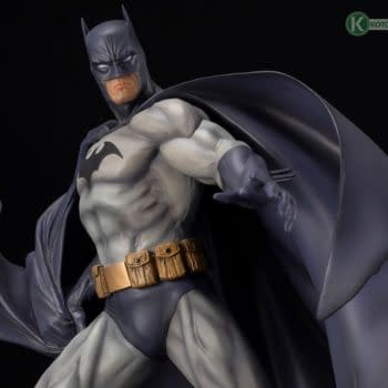 Batman Hush Gets His Own DC Comics Kotobukiya Statue