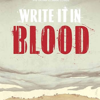 Write It In Blood a New Crime Noir Graphic Novel Published by Image