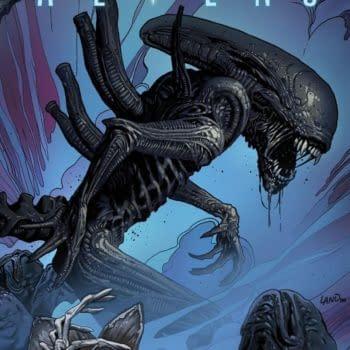 Separated At Birth: Tristram Jones and Greg Land's Alien
