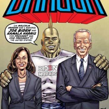 Savage Dragon Endorses Biden/Harris Ticket