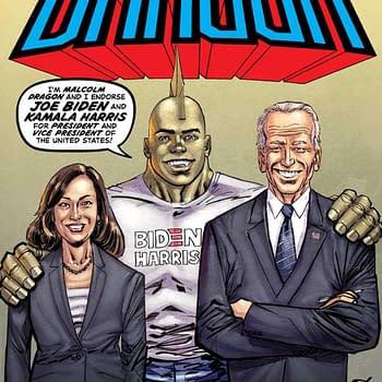 Savage Dragon #253 Endorses Joe Biden and Kamala Harris