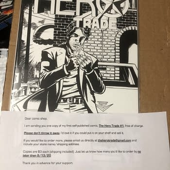 Bad Ideas First Comic Book The Hero Trade #1 Sells For $300+ on eBay