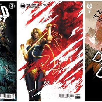 Lost In Transit To The UK: DCeased Dreaming Vampirella And More
