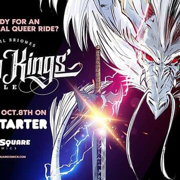 Twin Kings Battle: Phil Brioness Kickstarter for YA LGBTQ Comic