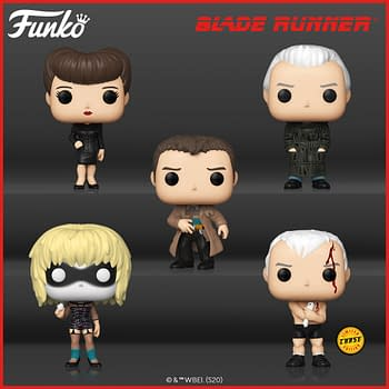 Blade Runner is Back with New Line of Pop Vinyls from Funko