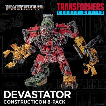 Transformers: Revenge of the Fallen Devastator Lands from Hasbro