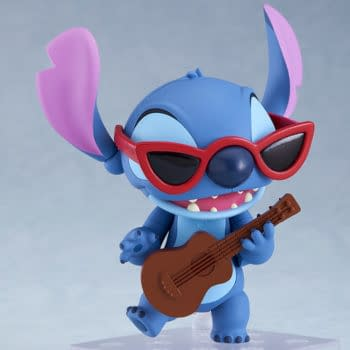 Stitch Crash Lands at Good Smile Company with New Figure