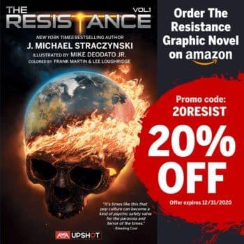 AWA Studios Offering Upshot Graphic Novels Discount on Amazon
