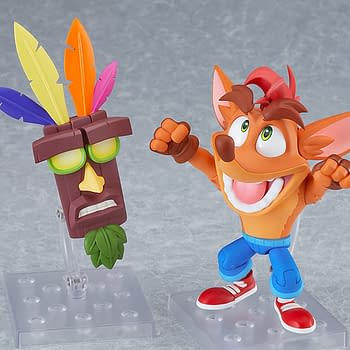 Crash Bandicoot is Back with a New Figure from Good Smile