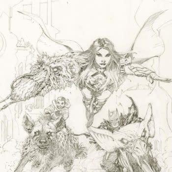 Last-Minute Death Metal #3 Third Printing Greg Capullo Cover For FOC