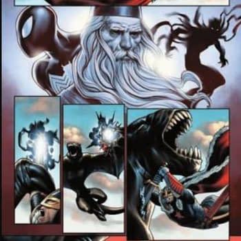 4 Page King In Black: Black Knight #1 Preview by Jesus Saiz
