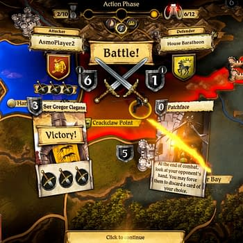 A Game Of Thrones: The Board Game - Digital Edition HAs Been Released
