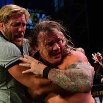 Chris Jericho appears on AEW Dynamite (Credit: All Elite Wrestling)