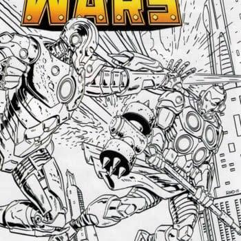 Armor Wars #1/2 Sketch Cover