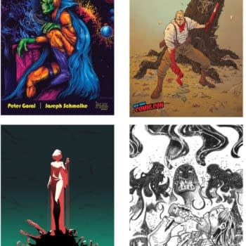 NYCC Exclusive Covers from Scout Comics for Four Titles