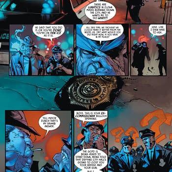 No More Commissioner Harvey Bullock in Batman #100