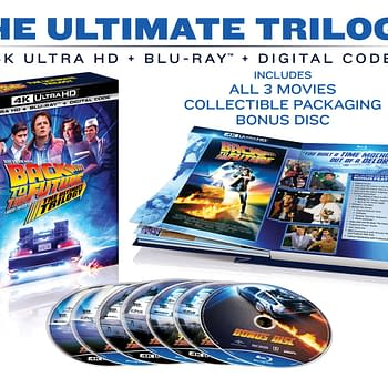 Giveaway: Back To The Future: The Ultimate Trilogy On Blu-Ray