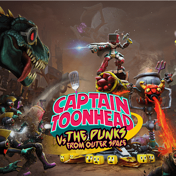 Captain Toonhead Vs The Punks From Outer Space Announced