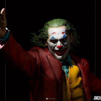 Joker Dances His Way to Iron Studios With New Statue