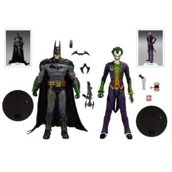 McFarlane Toys Reveals Exclusive Batman: Arkham Asylum 2-Pack