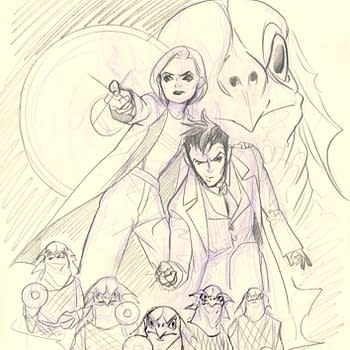Doctor Who Comic #1 Adds Peach Momoko Sketch Variant FOC Cover