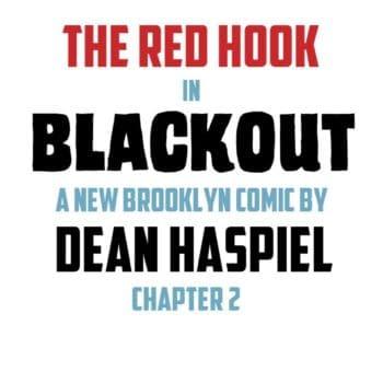 Dean Haspiel's The Red Hook Season 4, Blackout, Published at Webtoon