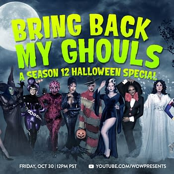 Drag Race Season 12 Halloween Special Ready to Bring Back My Ghouls
