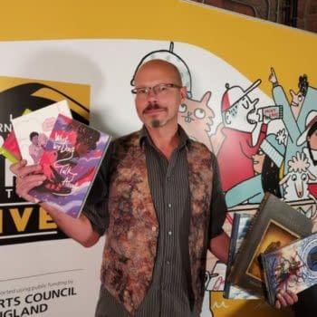 Retailer Stephen LHollandAnnounced As New UK Comics Laureate