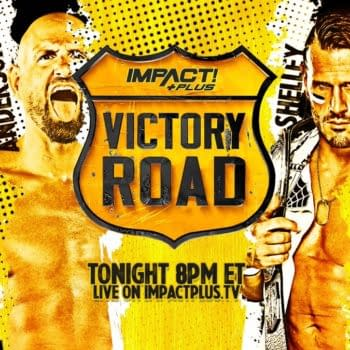 Ace Austin, Karl Anderson, Josh Alexander, and Alex Shelley faced off in a four-way match at Victory Road.