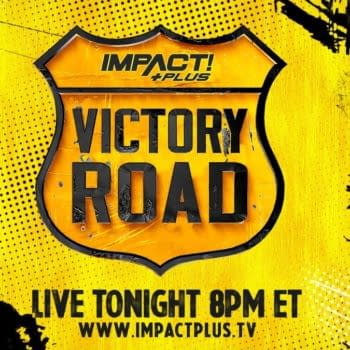 The logo for Impact Wrestling's Victory Road quasi-PPV.