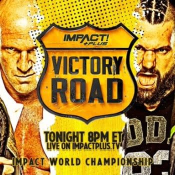 Eric Young defends his Impact World Championship against Eddie Edwards at Impact Wrestling's Victory Road special.