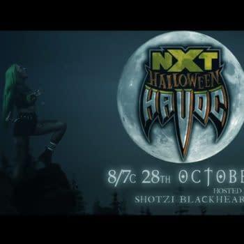 WWE NXT Halloween Havoc (Image: WWE)