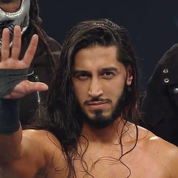 Mustafa Ali Revealed as Leader of Retribution on Monday Night Raw