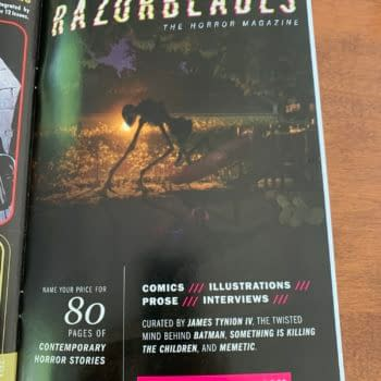 James Tynion IV Advertises Razorblades In DC Mature Readers Comics